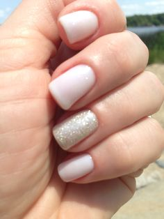 Opi GelColor Funny Bunny and IBD All That Glitters