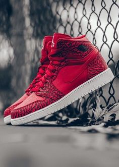reputable site d7191 5aa2b Nike Air Jordan 1 Red Elephant Jordans Sneakers, Nike Air Jordans, Shoes  Sneakers,