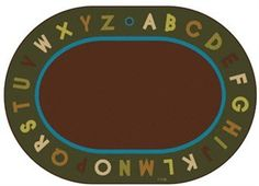 Bring the Alphabet Circletime Classroom rug into your classroom or playroom today. Perfect for singing, reading and story time. FREE SHIPPING!http://www.sensoryedge.com/natures-colors-alphabet-circletime-classroom-rug.html