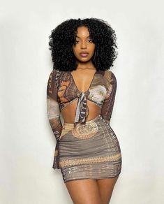 Black Girl Fashion, Look Fashion, Girl Outfits, Cute Outfits, Fashion Outfits, Casual Outfits, Black Girl Magic, Black Girls, Beautiful Black Girl