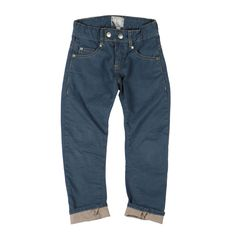 For Kids in Jeans:  DEXTER 5 pocket, dark blue, cool cut!