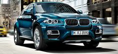 BMW X6. Love the car and color!