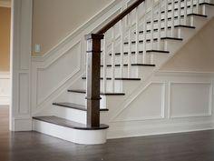 De Mooiste Trappenhuizen : Moderne open trap met houten treden trap makeover in