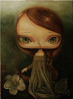 Berenice (by Paulina Góra) [green dress]