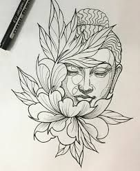 "Ergebnis für Praying Buddha Tattoo Bild Ergebnis für Praying Buddha Tattoo ""Convoque seu Buda o clima ta tenso""✍🍂 Tattoo Sketches, Drawing Sketches, Tattoo Drawings, Art Drawings, Pencil Drawings, Kunst Tattoos, Body Art Tattoos, Cool Tattoos, Tatoos"