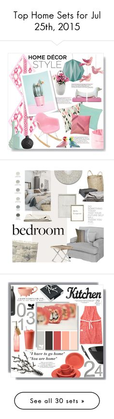 """Top Home Sets for Jul 25th, 2015"" by polyvore ❤ liked on Polyvore"