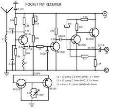 FM Receiver Circuit Diagram.