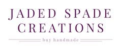Jaded Spade Creations - Quilting and Crochet