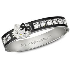 cac15a6faa46 Swarovski Hello Kitty Rock Bangle ( 170) found on Polyvore Hello Kitty  Jewelry