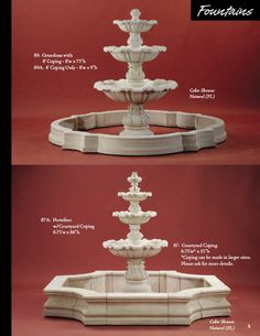 Fountain idea.