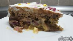 Nutellás vaníliás torta Nutella, Pie, Pudding, Food, Torte, Cake, Fruit Cakes, Custard Pudding, Essen