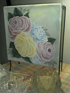 Learning to paint roses!