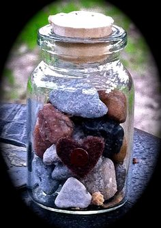 Miniature Jar of Hearts