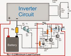 me ~ Pin on Electricidad ~ No Load Detector and Cut-off Circuit for Inverters Electronic Circuit Projects, Electronic Engineering, Electrical Engineering, Electrical Wiring, Power Electronics, Electronics Projects, Arduino, Battery Charger Circuit, Electrical Circuit Diagram