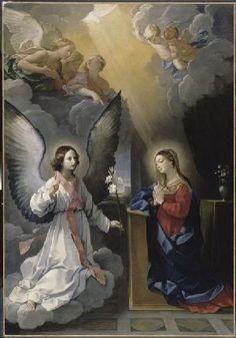 Guido Reni. Anunciación, 1629. Óleo sobre lienzo. Louvre, París. WikiPaintings.org