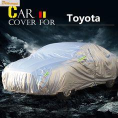 Buildreamen2 Car Cover Anti-UV Sun Rain Snow Dust Resistant Cover Waterproof For Toyota Reiz Levin Prius Tercel Sequoia Matrix