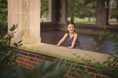 N. Lalor Photography : 3 year old girl and her castle - lifestyle portrait.