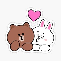 Preppy Stickers, Love Stickers, Cony Brown, Brown Bear, Hiragana, Tom Brady, Bear Character, Lines Wallpaper, Brown Line