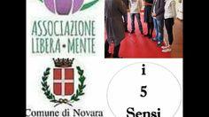 """Esposizione artistica """"i 5 sensi""""- servizio del notiziario di Videonovar..."""