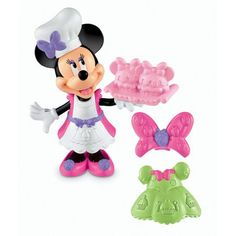 #walmart Fisher-Price Minnie Mouse Basic Cupcake Bow-Tique Play Set - $4 (save 61%) #fisherprice #toys #doll