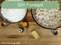 How to Make Homemade Fondant - Around My Family Table