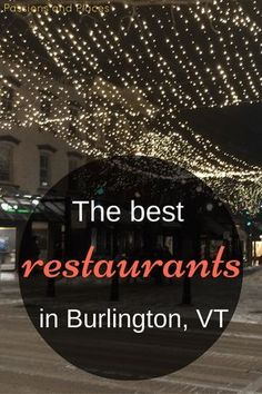 Burlington, Vermont, is a hippie little college town and a foodie hotspot. With lots of vegetarian and vegan options, mostly local food and ingredients, and great coffee and beer, it won't disappoint. Whether you travel to Burlington to go leaf-peeping, visit UVM, or run the Vermont City Marathon, make time to try one of these top restaurants and cafes.