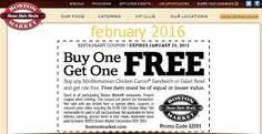 Boston Market coupons & Boston Market promo code inside The Coupons App. Second chicken carver or salad bowl free at Boston Market April Free Coupons Online, Kfc Coupons, Free Printable Coupons, Shopping Coupons, Love Coupons, Grocery Coupons, Free Printables, Shopping Deals, Boston Market