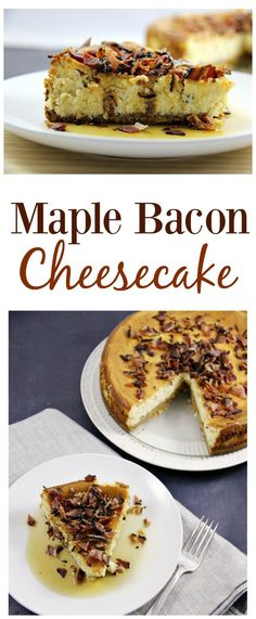 We've rounded up the most Bacon Desserts for your viewing pleasure. Because dessert just isn't dessert without bacon! These recipes would be suitable for Thanksgiving and Christmas dinner; for holiday dessert exchange parties; Great Desserts, Best Dessert Recipes, Delicious Desserts, Bar Recipes, Recipies, Dinner Recipes, Candy Recipes, Baking Recipes, Maple Bacon Cheesecake