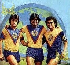 Javier Aguirre, Eduardo Bacas y Juan Antonio Luna