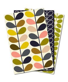 Orla Kiely Pocketbook Notebook