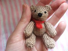 Ravelry: Bill & Ben Twin Bears pattern by Craftbits