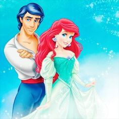 Disney couples - The Little Mermaid - Ariel and Eric