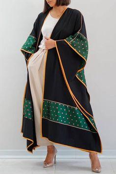 Modesty Fashion, Abaya Fashion, Muslim Fashion, Kimono Fashion, Fashion Outfits, Iranian Women Fashion, Russian Fashion, Dubai Fashionista, Mode Abaya