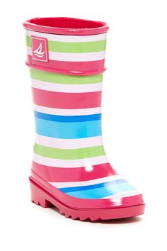 Pelican Striped Rain Boot (Toddler & Little Kid) by Sperry Top-Sider on @nordstrom_rack