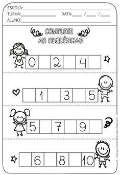 Task Shakti - A Earn Get Problem Atividade Pronta - Sequncia Numrica Nursery Worksheets, Kindergarten Math Worksheets, Worksheets For Kids, Preschool Activities, Preschool Writing, Numbers Preschool, Preschool Learning, Teaching, Math For Kids