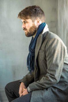 Short Crombie Coat worn by Liam Innes