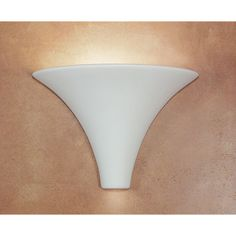 Madera Ivory Black Marble Flush Wall Sconce - (In Ivory Black Marble)