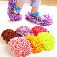 1pc 5 Colors Dust Mop Slipper House Cleaner Lazy Floor Dusting Cleaning Foot Shoe Cover Dust Mop Slipper Home Accessories #>=#>=#>=#>=#> Click on the pin to check out discount price, color, size, shipping, etc. Save and like it!