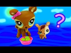 LPS Mommy Baby Deer Littlest Pet Shop Mystery Surpirse Daddy Unboxing Opening Mom Dad Review - YouTube