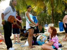 A serenade on the beaches of Trinidad and Tobago for this MUSC program Blue Hen abroad.