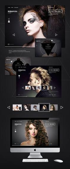 Aujourd'hui nous vous proposons une sélection de web design qui change des habituelles présentations dans des écrans où il est difficile d'apprécier l'ensemble du design complet d'une page.