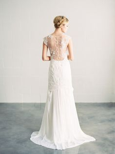 Ava wedding gown by Saint Isabel