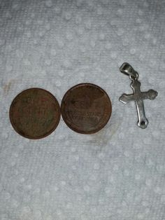 Sterling Cross and Wheats reverse
