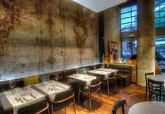 Un nuovo ristorante per la nuova Milano. Design e cucina creativa all'ombra dei grattacieli.