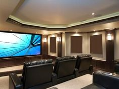 Home Theater Setup with Home Theater Seating Best Home Theater, Home Theater Setup, Home Theater Speakers, Home Theater Rooms, Home Theater Seating, Home Theater Projectors, Home Theater Design, Cinema Room, Movie Theater