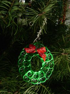 Pop tab ornament/earrings More