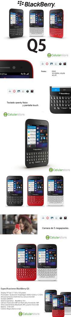 comprar blackberry q5 libre / venta blackberry q5 en argentina