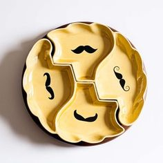 Yellow Lazy Susan Set, $98, now featured on Fab.