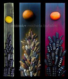 Pebble art by michela bufalini. Italy