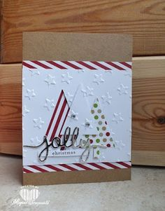 Magical Scrapworld: Jolly Christmas, Stampin' Up!, christmas card